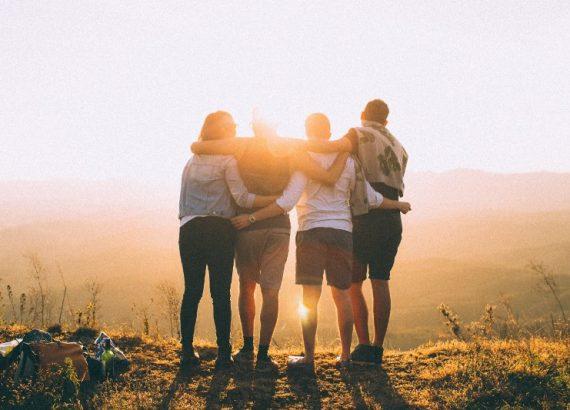 Friends together